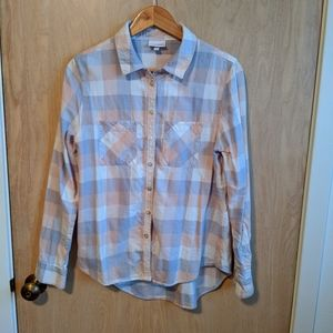 Cowgirl Flannel Button Down